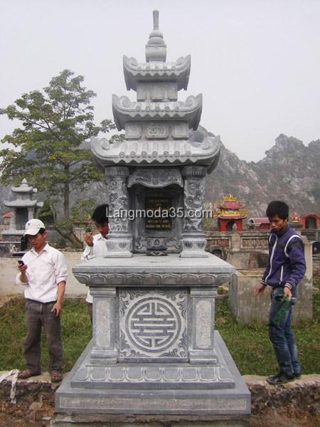 Mộ đá ba mái đá LMD 012