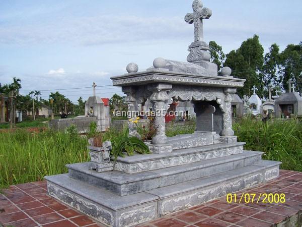 Mộ đá công giáo LMD 013