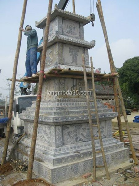 Mộ tháp đá LMD 006