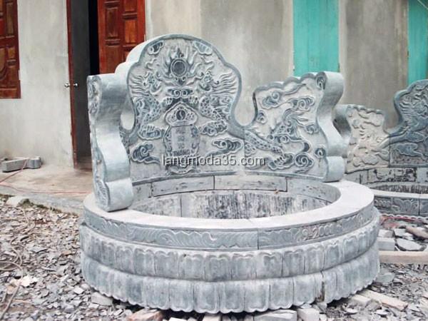 Mộ đá tròn LMD 003