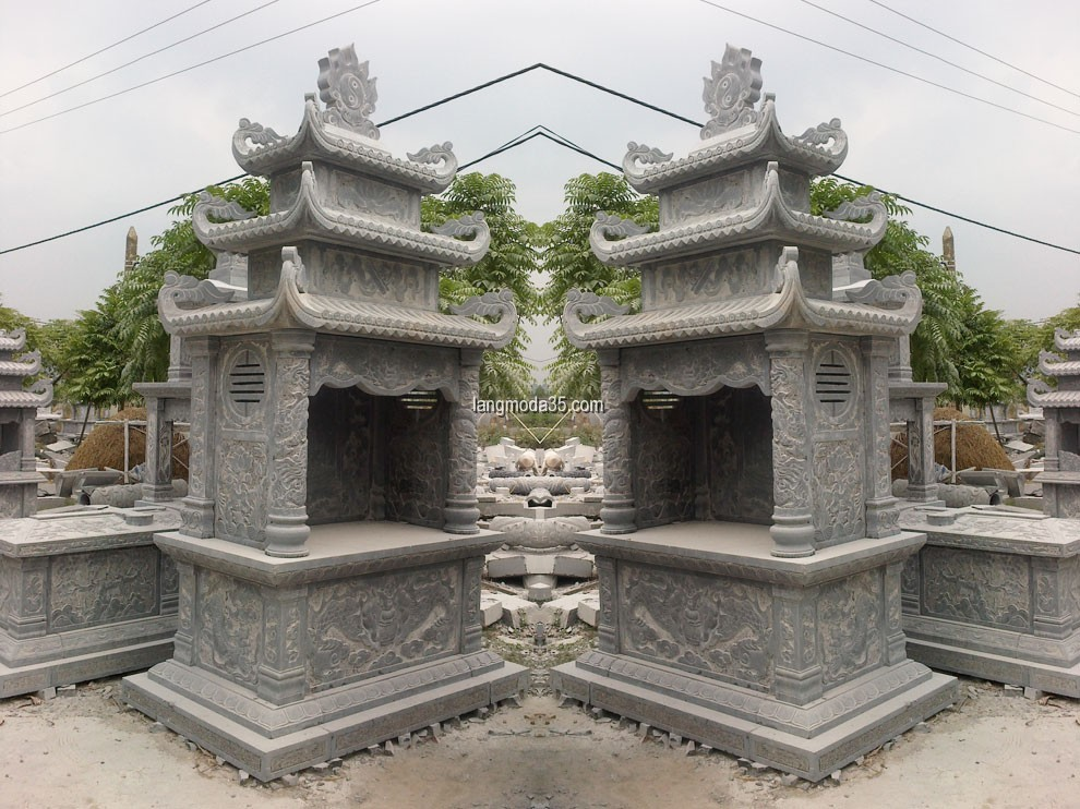 Lăng thờ đá LMD 035